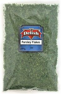 Dried Parsley Flakes All Natural by Its Delish, 2 Oz Bag