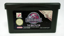 Jurassic Park - The DNA Factor - Nintendo Game Boy Advance GBA - AGB-ADNP-EUR