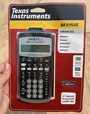 Texas Instruments BA II 2 Plus Financial Calculator