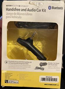 Scosche Bluetooth Handsfree and Audio Car Kit New in Box