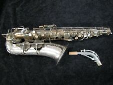 RARE Original Silver SML 'Super 45' Alto Saxophone - Serial # 5814