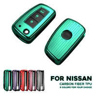 TPU Key Fob Cover Case For Nissan X-Trail Juke Qashqai Micra Pulsar 3Buttons NEW