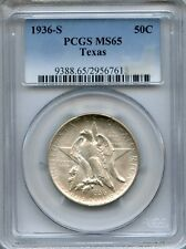 1936-S Texas PCGS MS65 ~ Commemorative Half Dollar ~ 50c (29567615)