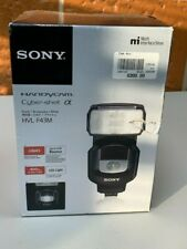 SONY HVL-F43M External Flash -Multi-Interface Shoe - NEW Free Priority Shipping