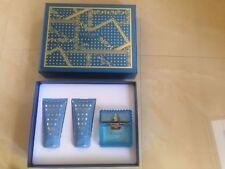 New Versace Man Eau Fraiche Gift Set 50ml edt, 50ml shower gel, 50ml shave balm