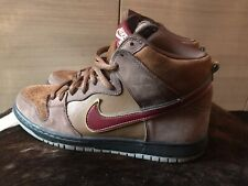 Nike Dunk High Premium SB 'Cigar City' Size UK9, EU44.