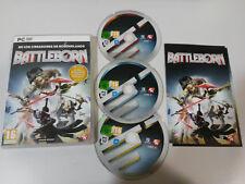 BATTLEBORN PACK PRIMOGENITO Y CARTAS PERSONAJE JUEGO PC 3 X DVD-ROM ESPAÑOL