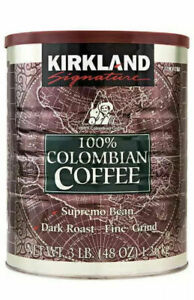 100% Colombian Ground Filter columbian Coffee 1.362kg Tin UK STOCK