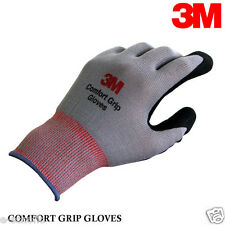 3M Nitrile Foam Coated Work Hand Gloves Comfort Grip Gloves For All ESD SIZE- L