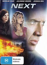 NEXT Nicholas Cage / Julianne Moore DVD R4 - PAL - New