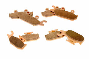 2015 2016 Can-Am Maverick XDS 1000 Front and Rear Severe Duty Brake Pads