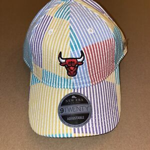 New Era Chicago Bulls Multiseer 9TWENTY Adjustable Hat