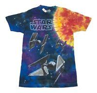 Star Wars Tie Fighter Fleet Outer Space Tie Dye Men's T Shirt