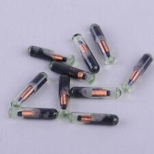 10pc Glass Key Transponder ID48 Immobilizer Chip For VW Golf Audi A4 Seat Skoda
