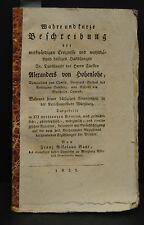 Baur – Alexander von Hohenlohe – Wunderheilungen - 1821