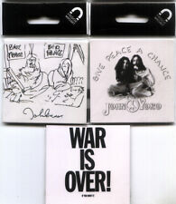 BEATLES John Lennon MAGNET Lot of 3 BED-IN Give Peace WAR OVER Sealed BRAND NEW