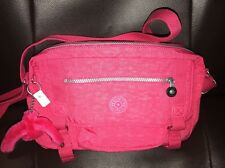 Kipling Gracy Crossbody Bag Vibrant Pink