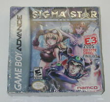 Sigma Star Saga (Nintendo Game Boy Advance, 2005) Factory Sealed R6716