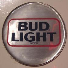 "2 BUD LIGHT BEER LOGO 7/8"" REFRIGERATOR FRIDGE MAGNET NEW"