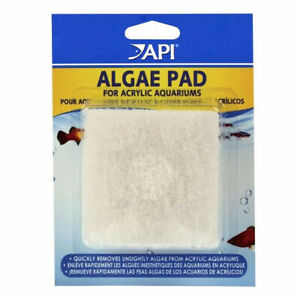 API Algae Scraper Pad & Scrubber Sponge For Cleaning Acrylic Aquarium Fish Tanks