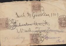 O) 1916 JAPAN,  THE IMPERIAL CREST AND JAPANESE SCRIPT IN THE CENTER- 1/2 S. BRO