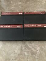 Sega Master System 4 Game Lot Great Ice Hockey And After Burner