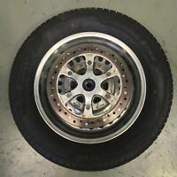 Rear wheel rim disc tyre straight TRIUMPH ROCKET III 3 TOURING 2008