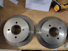 2x ATE Brake Disc Rear Axle Also For Ford Escort V VI VII Orion III