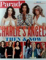 Parade Magazine NOVEMBER 2019 CHARLIE'S ANGELS Farrah Fawcett JACLYN SMITH New