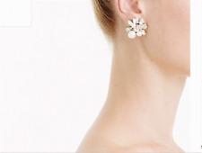 J. Crew Pearl and crystal  Earrings