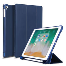 smart flip leather tablet cover case for 2019 ipad air3 10.5 with pencil holder