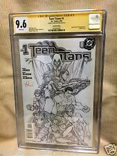 Teen Titans 1 CGC 9.6 Superboy Impulse by Michael Turner & Signed by Mike McKone