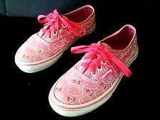 314413320 HELLO KITTY VANS GIRLS SHOES KIDS SIZE 12.5/VANS SANRIO CANVAS KIDS GIRLS  SHOES