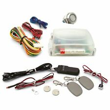 One Touch Engine Start Kit with RFID - Non illuminated Button auto rv street rod