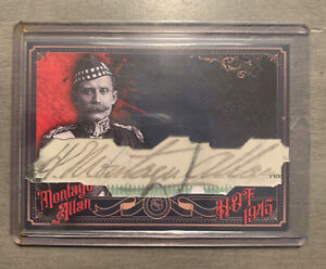 Sir H Montagu Allan Custom Cut Autographed Signed Card!