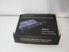 QICENT Superspeed USB 3.0  PCI Express Card NIB, FREE SHIPPING!