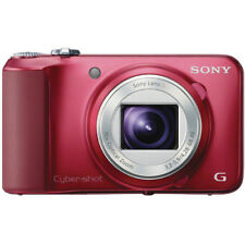 Sony Cyber-shot DSC-H90 Digital Camera - Red