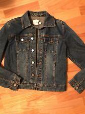 Calvin Klein Blue Denim Jean Jacket size S/P/CH. EUC