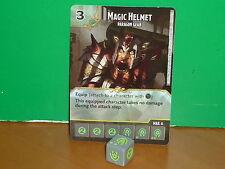 DICE MASTERS D&D Battle for Faerun Rare - 121 Magic Helmet