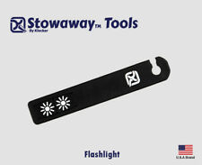 Klecker Stowaway Tools Flashlight Two LED For Case Key Ring STW-212