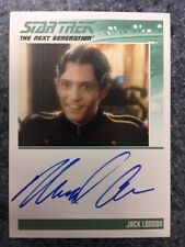 Star Trek TNG Portfolio Prints S2 Autograph Card Michael Aron as Jack London