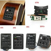 FISHMAN 201 101 ISYS GTN 301 Blend Preamp Acoustic Guitar EQ Tuner Pickup