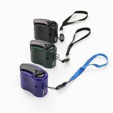 Teléfono Móvil Cargador USB de Mano Manivela de alimentación de emergencia Generador Eléctrico Universal