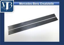 Mercedes-Benz W107 R107 280SL Pair Rubber Door Sill Mats - Black NEW