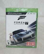 Forza Motorsport 7 Microsoft Xbox One, 2017 Brand New Factory Sealed