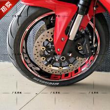 CBR600RR Wide Rim Front + Rear Wheel Reflective Sticker Decal Stripe For HONDA