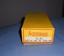 Accurail 40' Double Door Steel Box Car Great Northern  plastic Kit  NIB