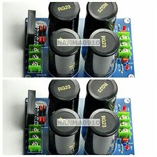 2pcs NOVER 10000uf/50V 35A Rectifier Audio Dual Power Supply Amplifier Board