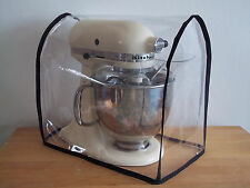 Kitchenaid and Kenwood K/Mix Food Mixer Cover transparent with Black edge