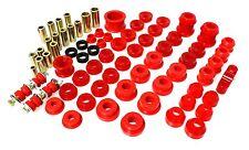 Energy Hyper Flex Polyurethane Bushing Kit for 96-00 Civic 16.18110R (Red)